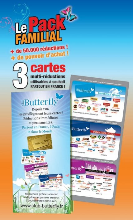 www.club-butterfly.fr activer ma carte Club Butterfly | Membres